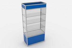 Стеклянная витрины ВП-1000 - 2