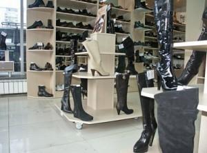 Торговое оборудования для магазина обуви