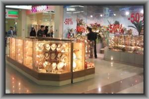 производство торгового оборудования для магазинов бижутерии