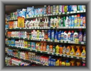 торговое оборудование для магазина бытовой химии