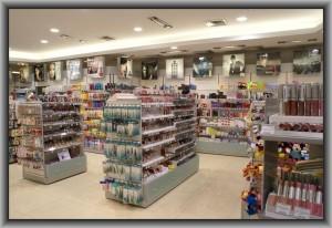 производство торгового оборудования для магазинов косметики
