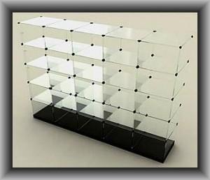 торговое оборудование из стекла