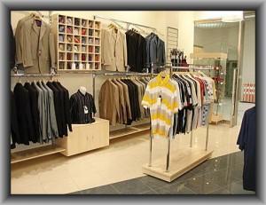 производство торгового оборудования для магазина одежды