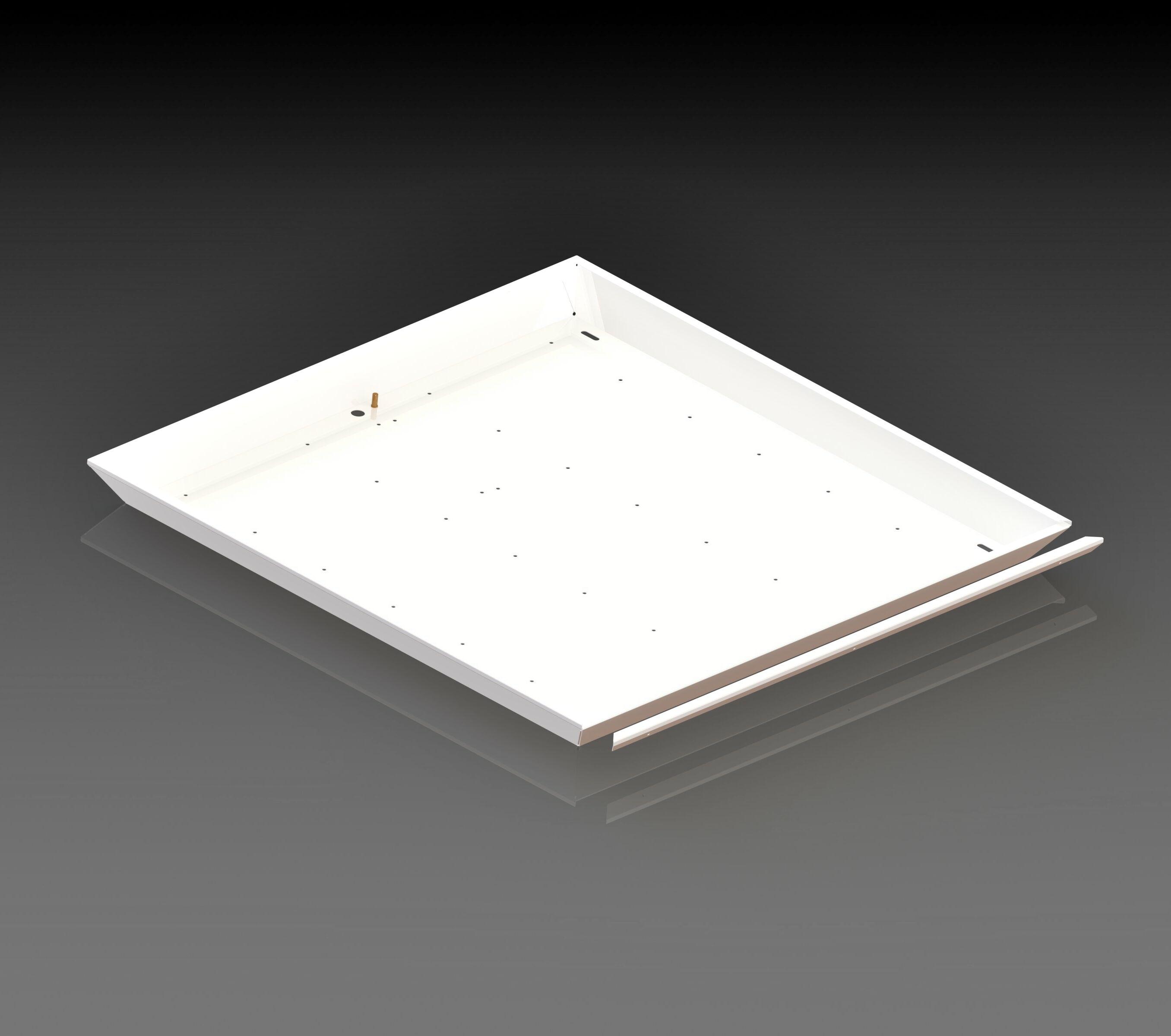 корпус светодиодного светильника эконом 1