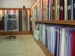 торговое оборудование для магазинов ткани