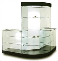 Сетклянные витрины на заказ