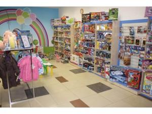 Торговое оборудование для детского магазина.