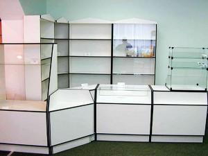 Торговое оборудование из ДСП. Производство торгового оборудования на заказ.