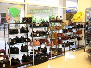 Торговое оборудование для магазинов сумок