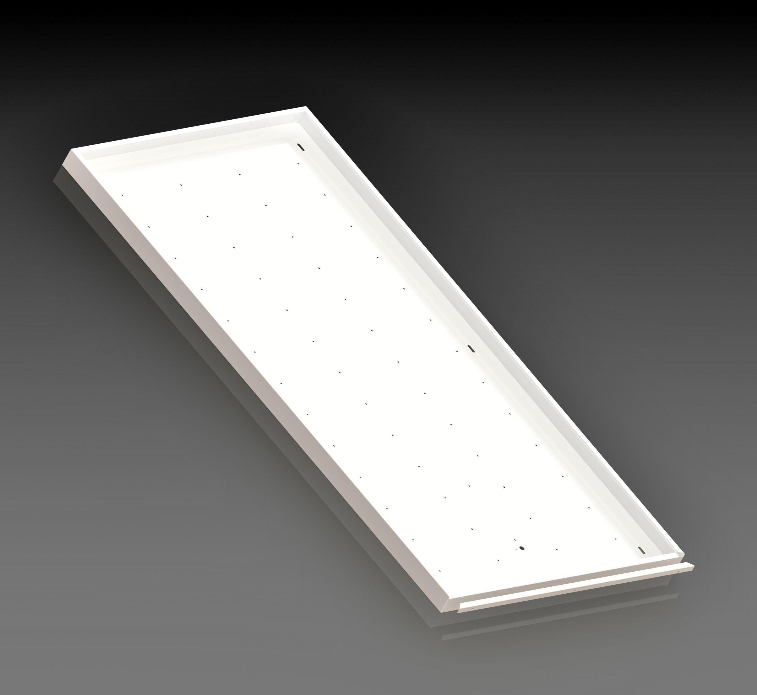 Корпус потолочного светодиодного светильника ФОРСАЖ-АРМСТРОНГ-2