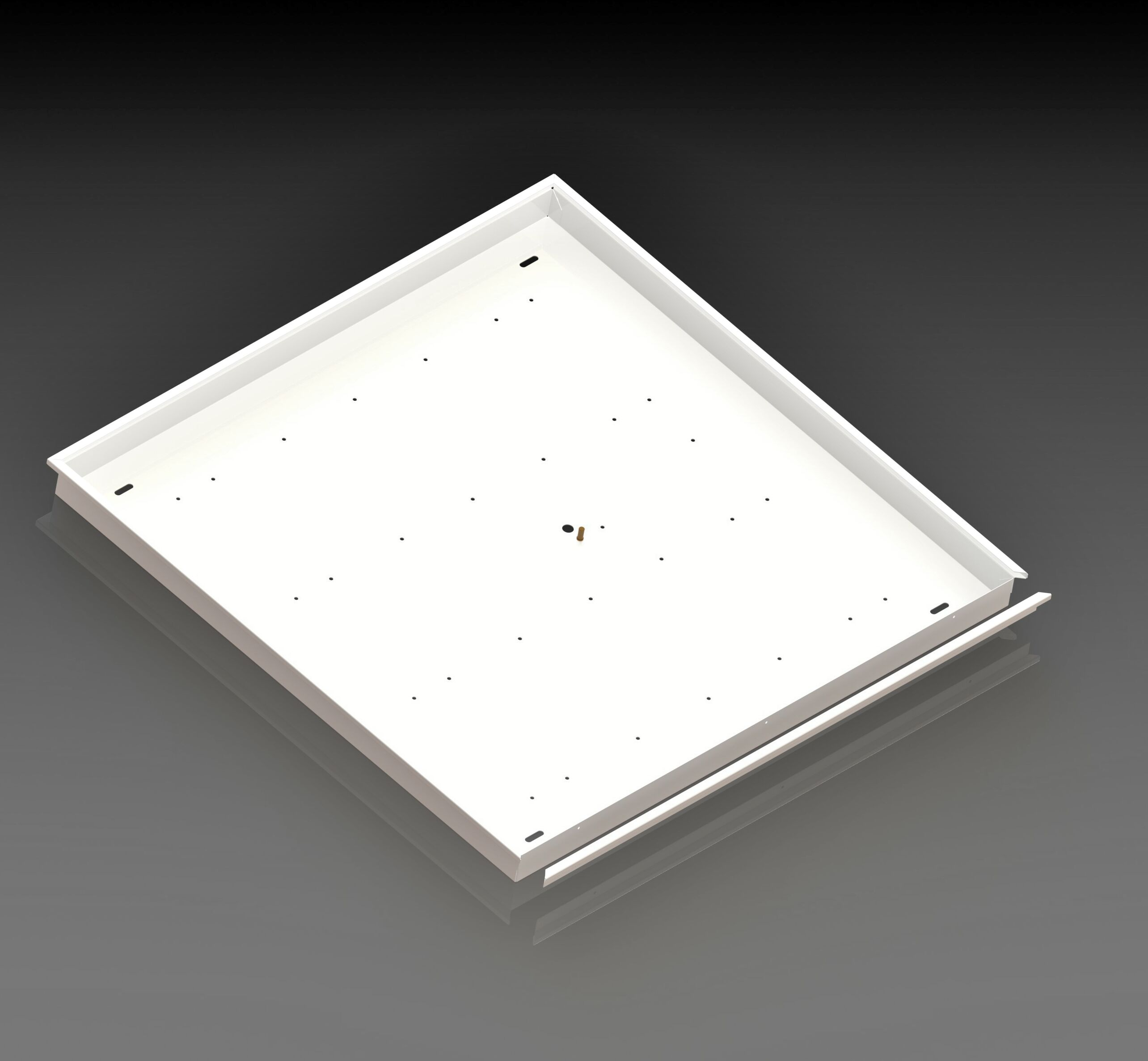 Корпус потолочного светодиодного светильника ФОРСАЖ-АРМСТРОНГ-эконом2