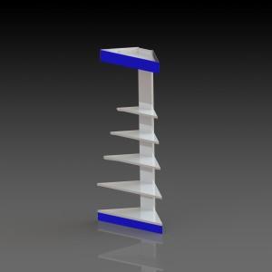 Стеллаж МТ2_4 пристенный внешний угол
