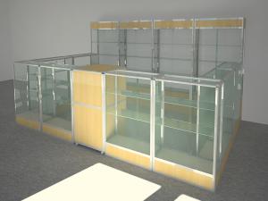 Торговая мебель для магазинов