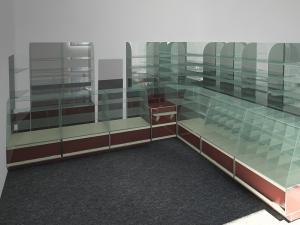витрины прилавки кондитерского отдела