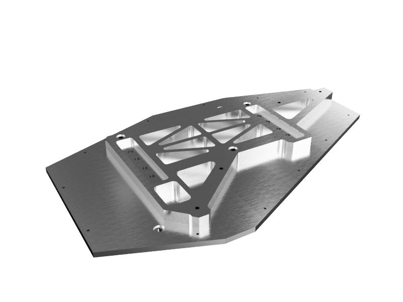 фрезеровка установочной плиты дефектоскопа