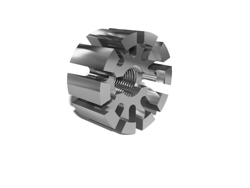 Фрезеровка алюминия на заказ (Деталь - Упор)