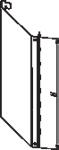 Стенка задняя для стеллажей: угловая наружная