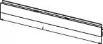 Стенка задняя наборная панель для стеллажа