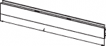 Стенка задняя нижняя наборная панель