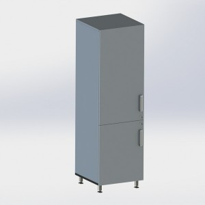 Шкаф металлический одностворчатый ФМ101 00 000