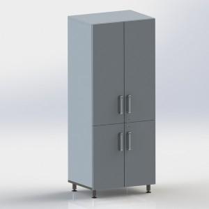 Шкаф металлический двухстворчатый ФМ103 00 000