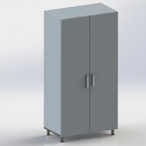 Шкаф металлический двухстворчатый ФМ106 00 000