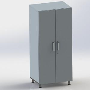 Шкаф металлический двухстворчатый ФМ107 00 000