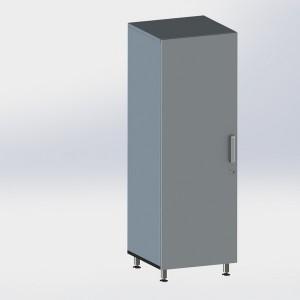 Шкаф металлический одностворчатый ФМ109 00 000