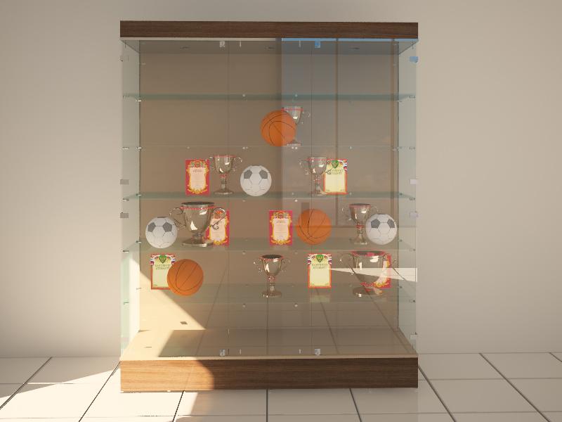 Витрина для кубков и наград