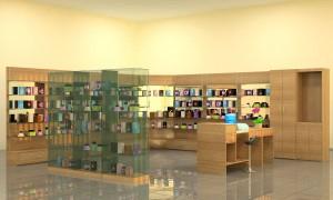 торговая мебель для магазина косметики и парфюмерии