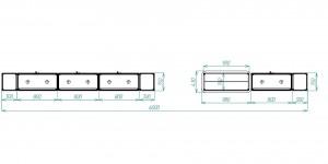 витрина для выставки схема
