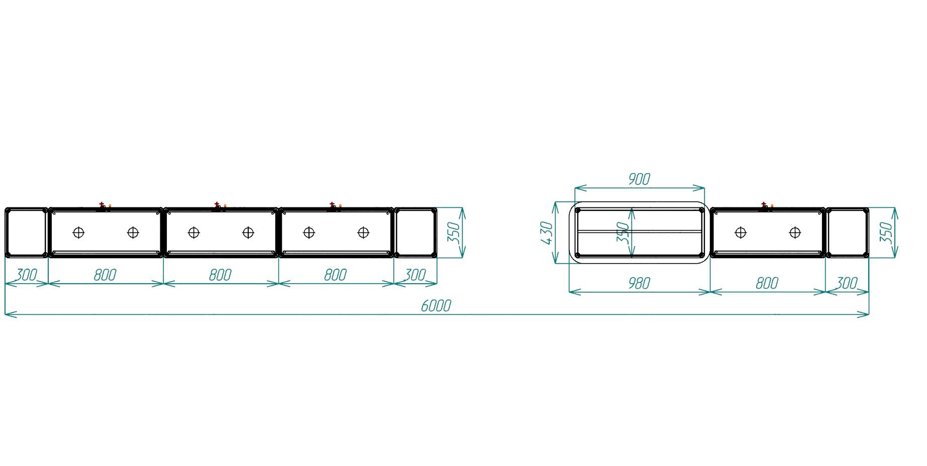 витрины из алюминиевого профиля схема сборки